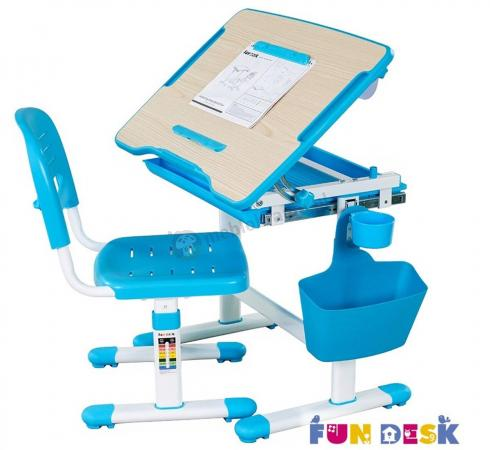 Bambino Blue regulowane biurko dla dziecka Fun Desk