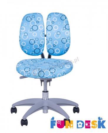 SST9 Blue krzesło dziecięce do biurka - siedzisko