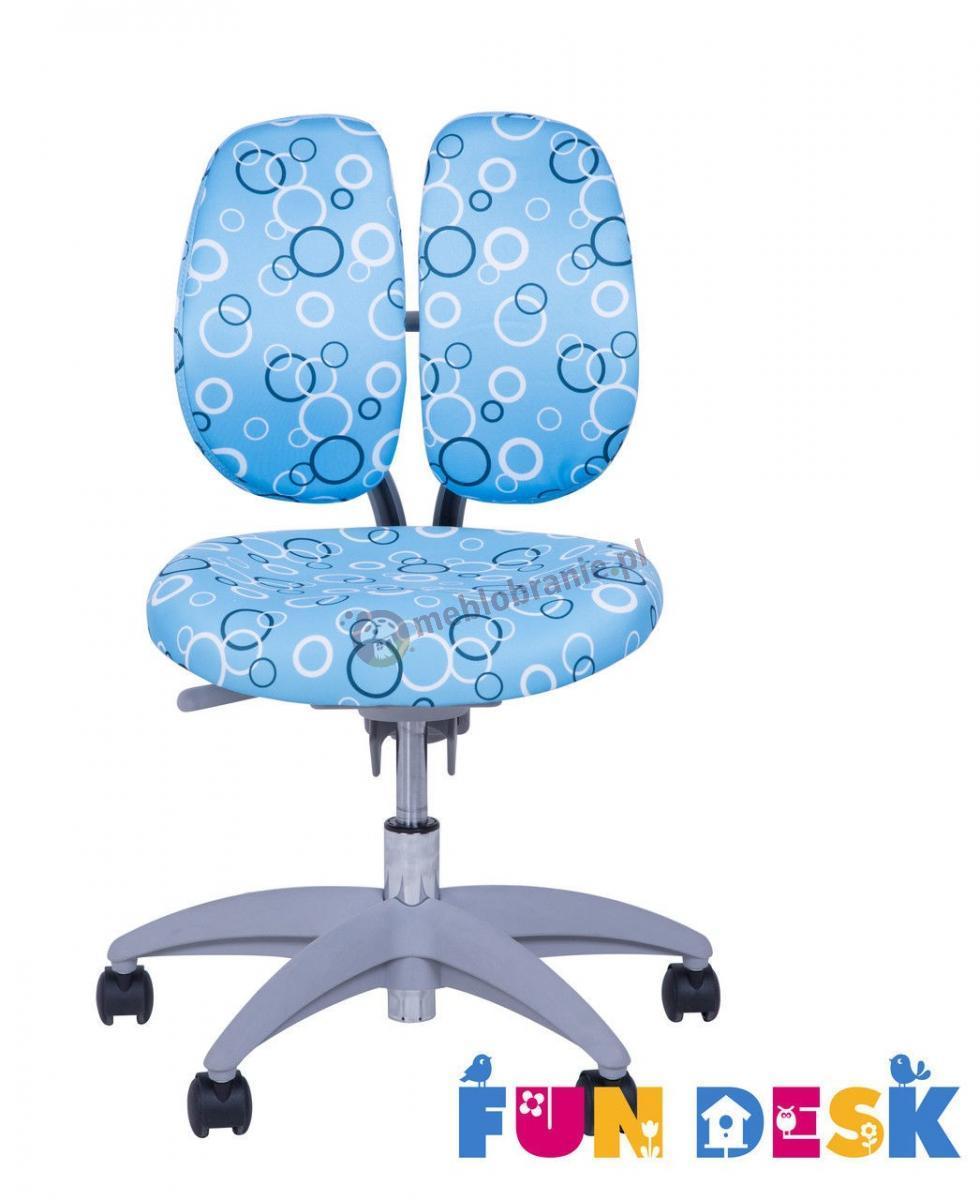 SST9 Blue krzesło dziecięce do biurka Fun Desk