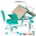Sorriso Green małe biurko dla dziecka i krzesło Fun Desk