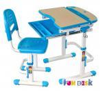 Sorriso Blue małe biurko pod laptopa