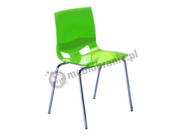 Fondo krzesło do jadalni - Limonkowa Zieleń