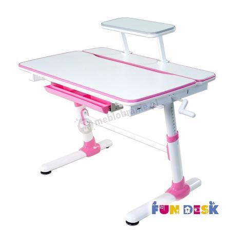 Carezza Pink biurko komputerowe małe Fun Desk