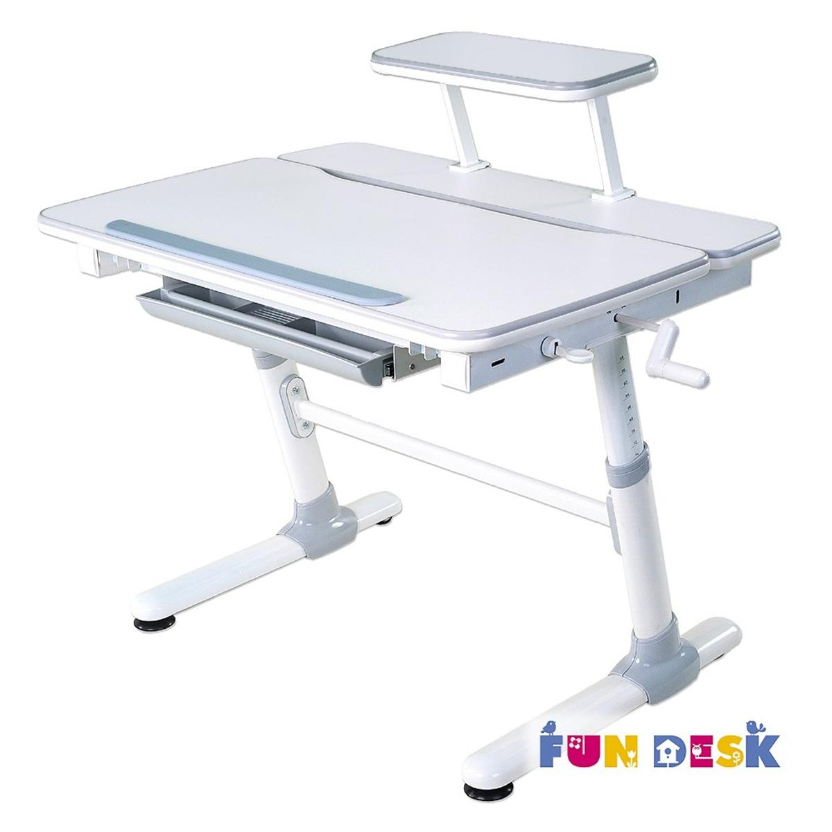 Carezza Grey Biurko Pod Komputer Małe Fun Desk
