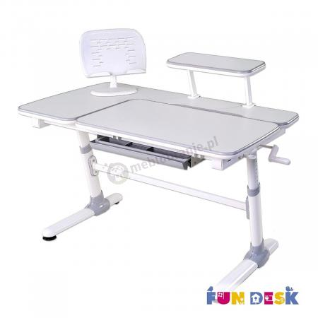 Invito Grey biurko szare Fun Desk