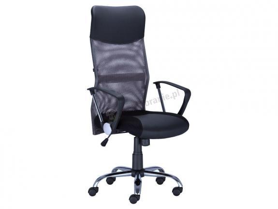 Szary fotel biurowy HIT