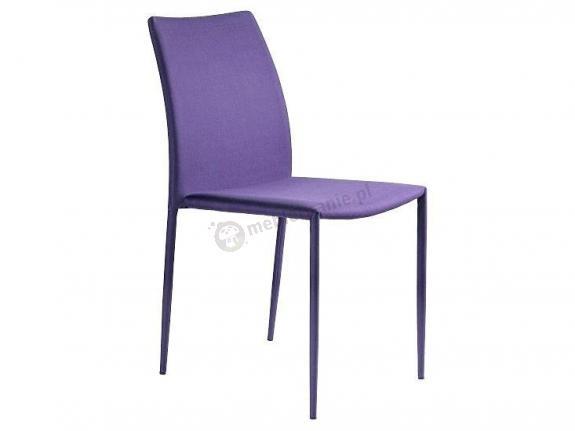 Krzesło Design Unique fioletowe