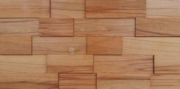 Buk twardzielowy – cegiełka gładka *046 - Natural Wood Panels - 1m2