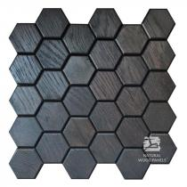 Hexagon series – 2 Dąb czarny - Natural Wood Panels