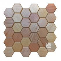 Hexagon series – 1 Buk - Natural Wood Panels
