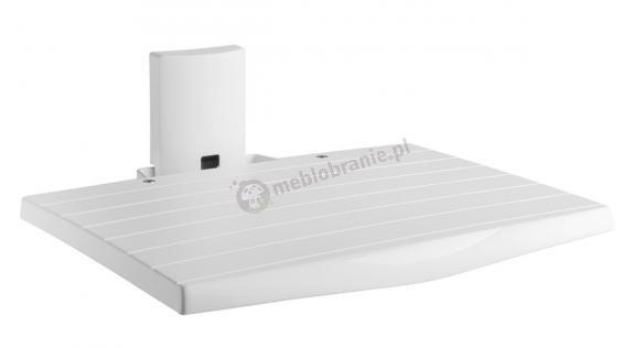 Meliconi Slimstyle AV Shelf biała półka ścienna RTV