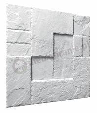 Gipsowe panele dekoracyjne 3D na ścianę Stein - ZD Design