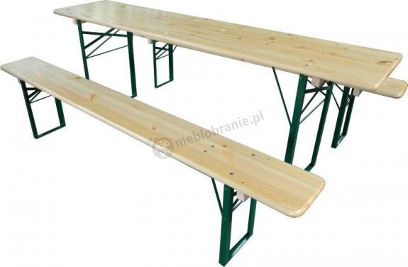 Komplet piknikowy Piwny 200cm