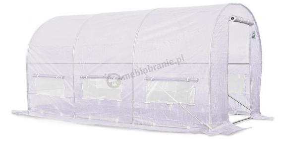 Tunel foliowy producent Focus Garden 4*2m - biała siatka