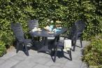 Krzesła ogrodowe Larisa i stół Portland