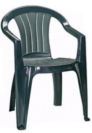 Krzesło ogrodowe Cuba zielone