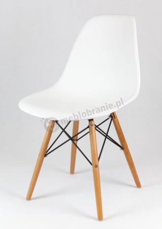 Eames Eiffeel krzesło Skandynawskie Białe KR012 Przód