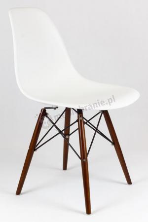 Krzesło skandynawskie do jadalni wenge