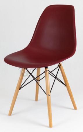 Krzesło skandynawskie brązowe