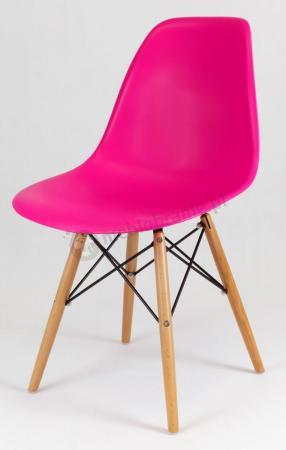 Krzesło skandynawskie ciemny róż