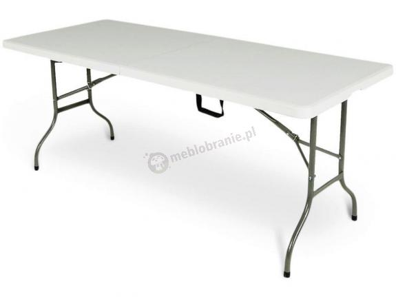 WYPRZEDAŻ - Stół cateringowy prostokątny składany - 180 cm