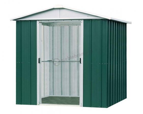 Yardmaster 109 GEYZ Blaszany domek ogrodowy 3x3 Emerald Deluxe (8,4m2)