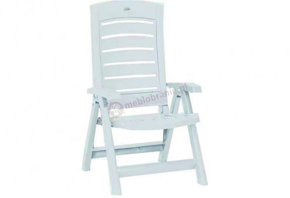 WYPRZEDAŻ - Krzesło ogrodowe składane Hera białe