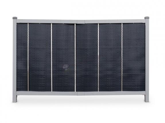 Ogrodzenie panelowe z technorattanu JEDNOSTRONNE 160x113
