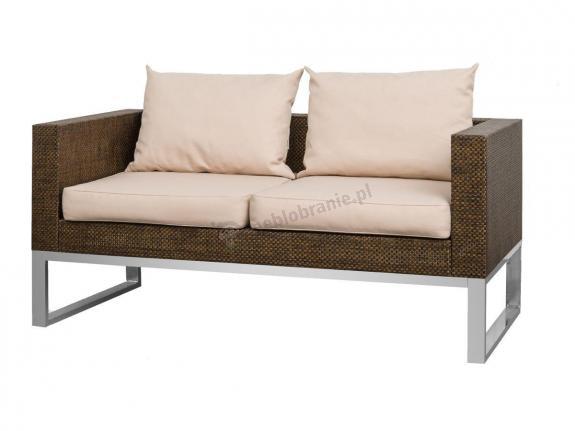 Sofa ogrodowa technorattan aluminiowa ZONK