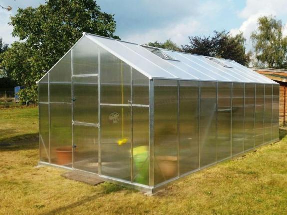 Szklarnia ogrodowa na pomidory Gampre XL-16 2,9x5,7x2,25m (16,5m2)