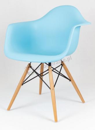 Krzesło niebieskie KR012F