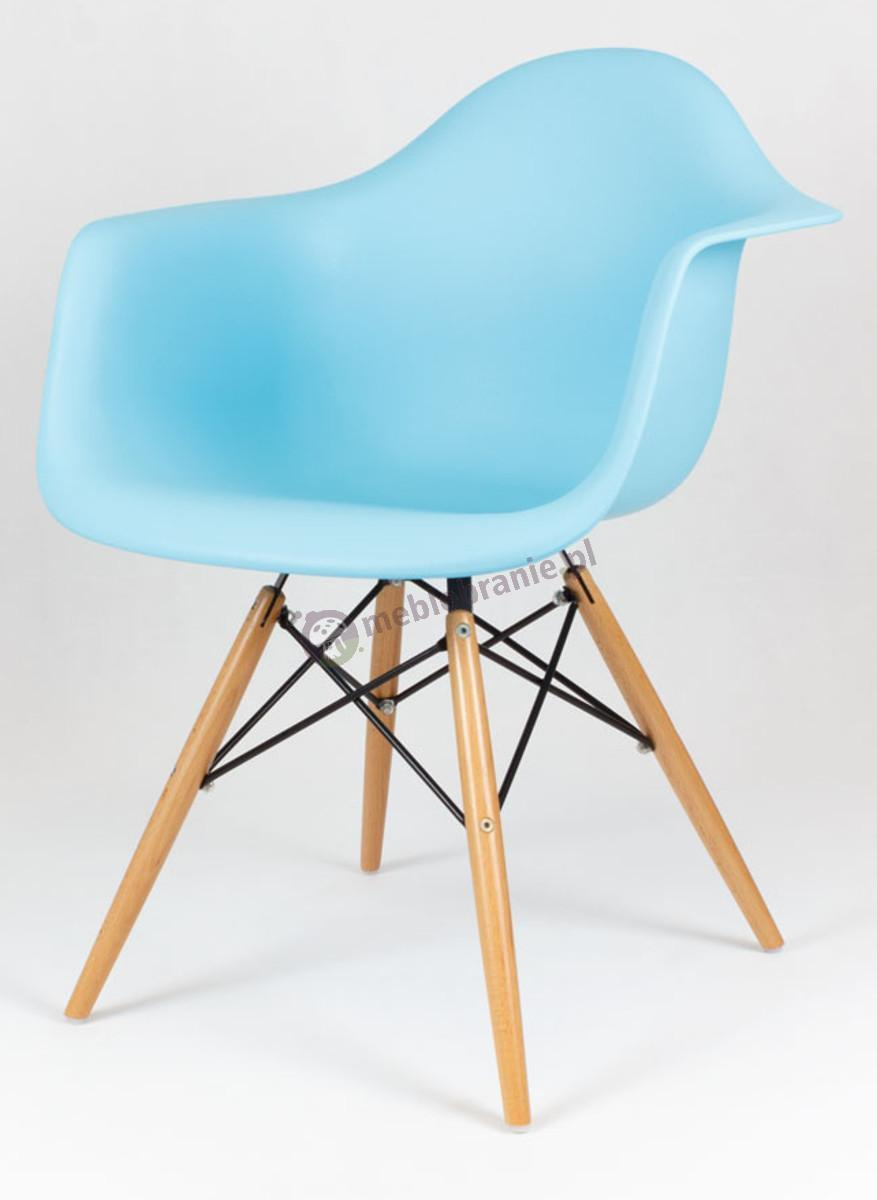 KR012F Mondi krzesło design mebel koloru ocean drewno