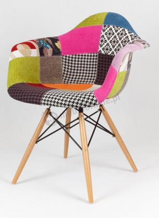 Krzesło tapicerowane KR012F Patchwork