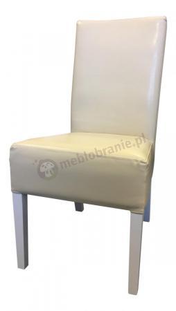 WYPRZEDAŻ - Krzesło proste 98cm MG1 Drewno Bielone