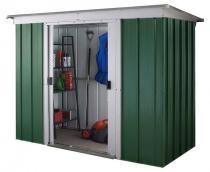Yardmaster 104 GPZ szopa ogrodowa metalowa Emerald Dark (~3,5m2)