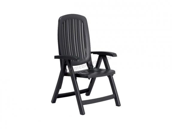 Nardi Salina krzesło ogrodowe regulowane Antracite