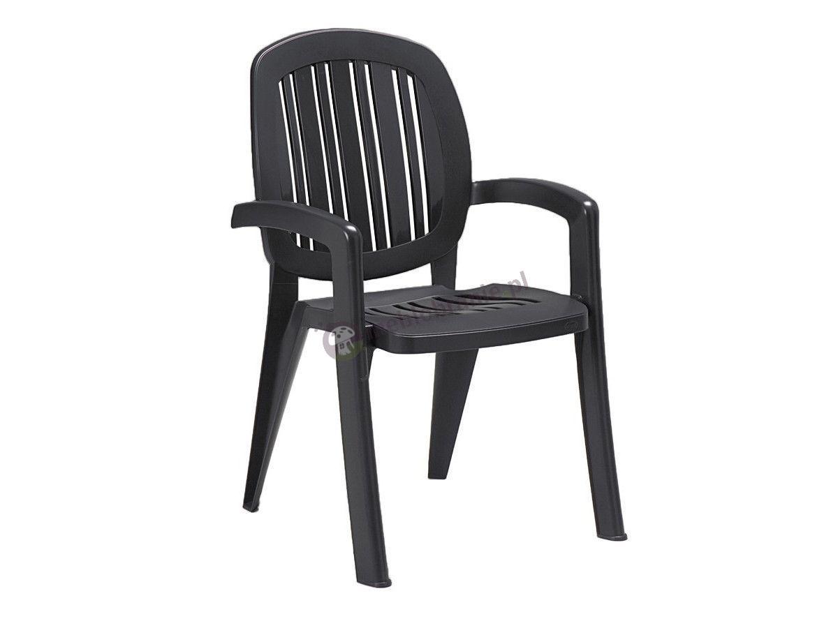 Nardi Creta krzesło tarasowe Antracite