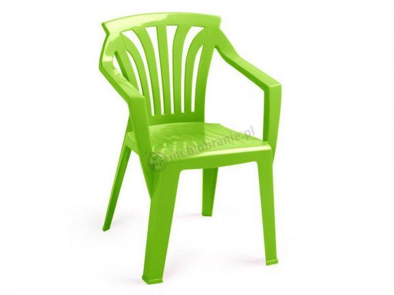 Nardi Ariel krzesło ogrodowe dla dzieci Lime