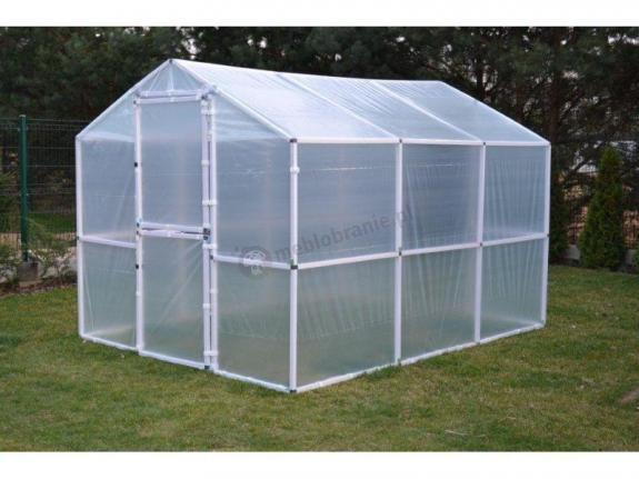 Pomidor – tunel foliowy do ochrony sadzonek 2x4 m