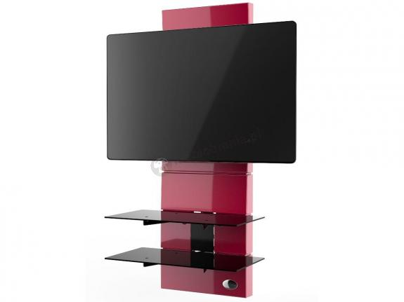 Wieszak panel na telewizor Meliconi Ghost Design 3000 Red
