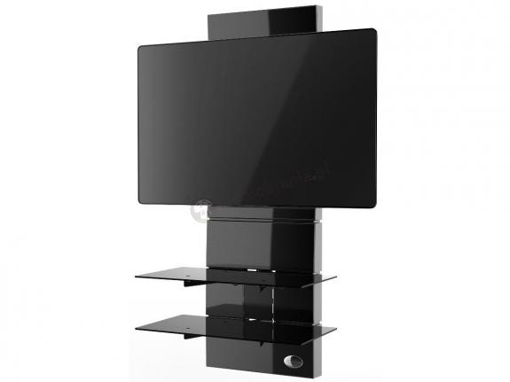 Wieszak panel na telewizor Meliconi Ghost Design 3000 Black