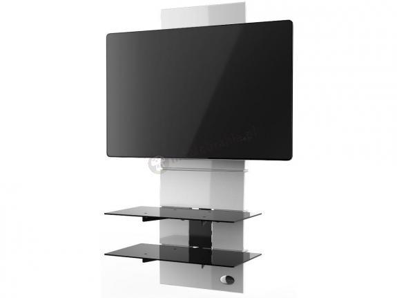 Wieszak panel na telewizor Meliconi Ghost Design 3000 White