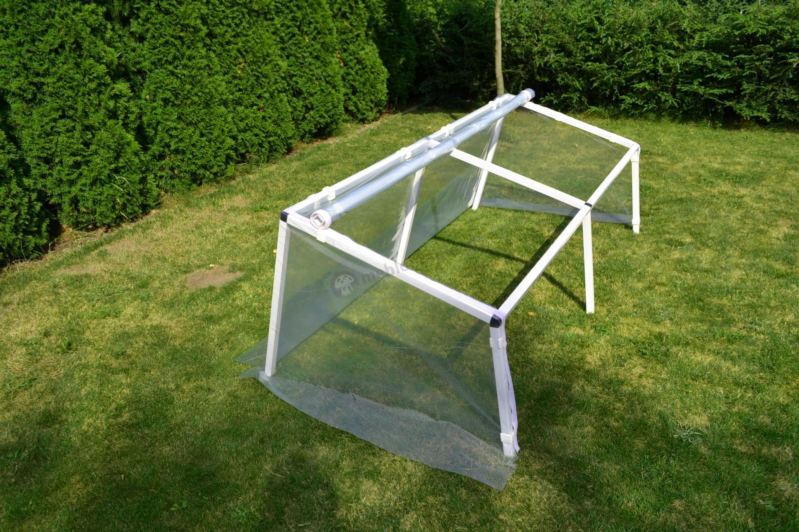 Zielnik – inspekt foliowy 1x1 m - stabilna konstrukcja