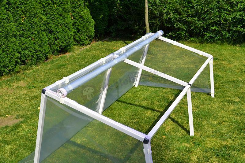 Zielnik – inspekt ogrodowy 1x2 m - wnętrze