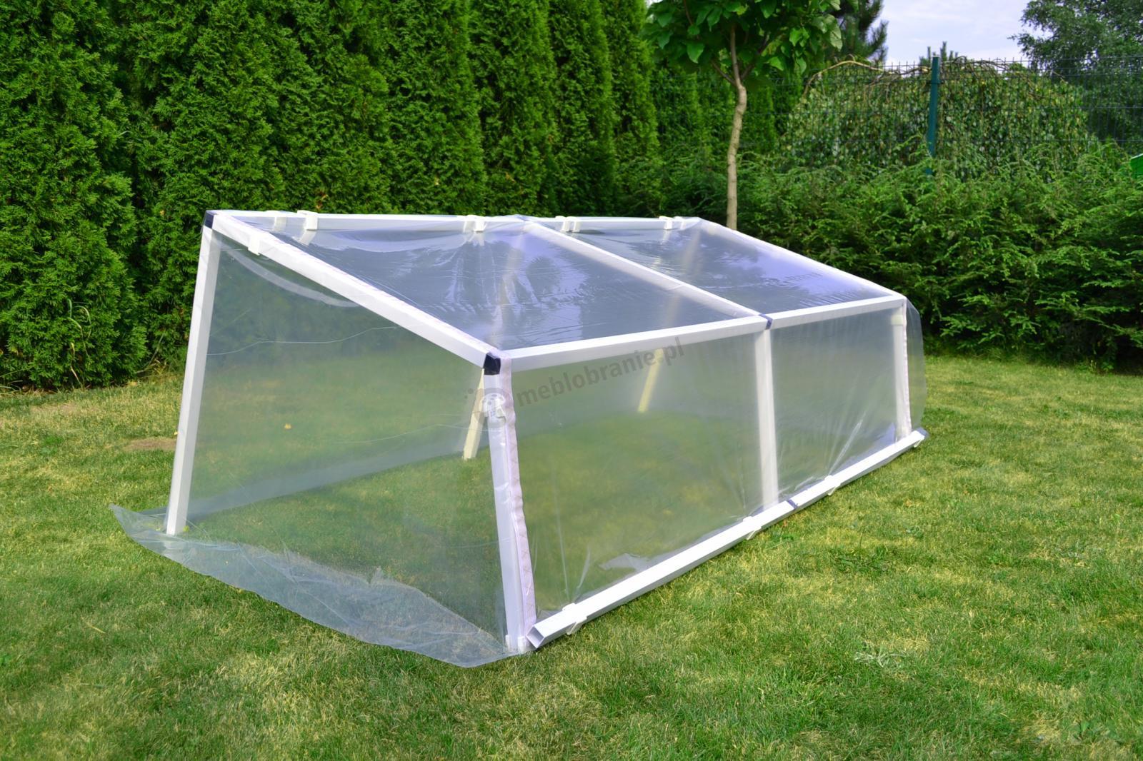 Zielnik – inspekt na warzywa 1,5x3 m - stabilna konstrukcja