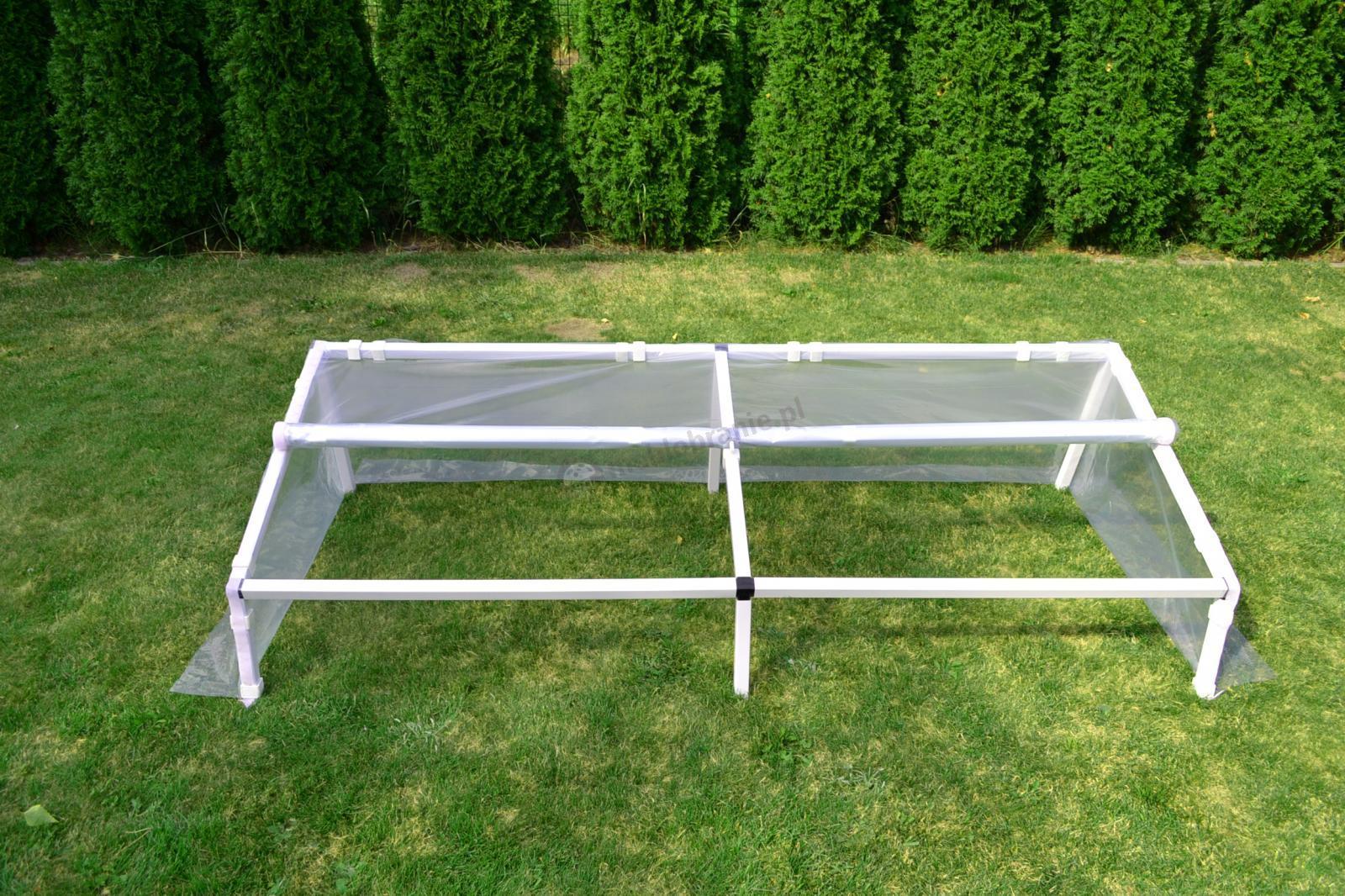Rozsadnik – szklarnia inspekt 1x1 m - stabilna konstrukcja