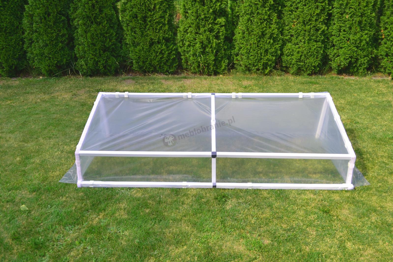 Rozsadnik – inspekt ogrodniczy 1x2 m - stelaż
