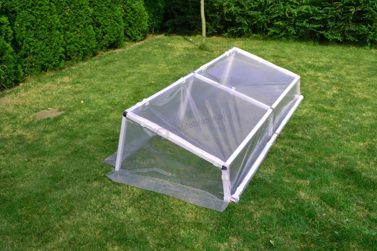 Rozsadnik – inspekt warzywny 1x3 m - stabilna konstrukcja