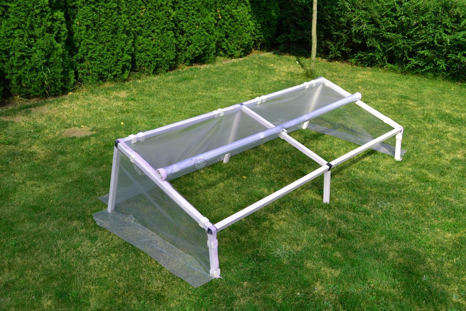 Rozsadnik – inspekt warzywny 1x3 m - wnętrze