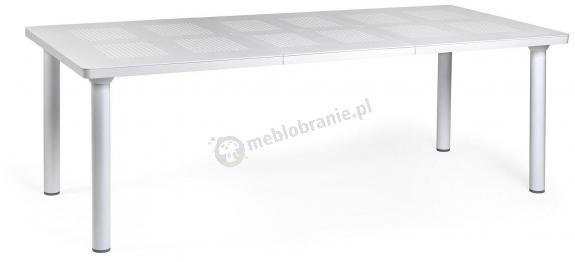 Nardi Libeccio stabilny stół ogrodowy Bianco